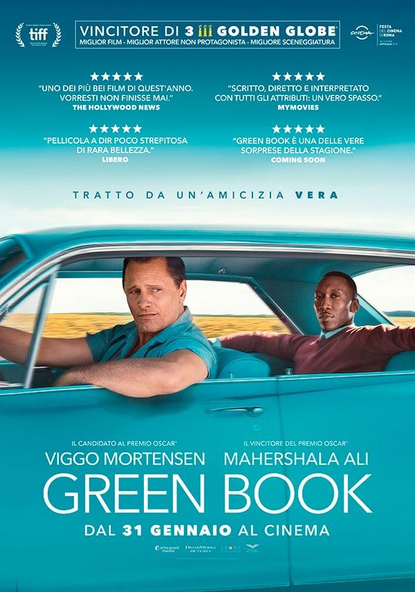 immagine manifesto Green Book