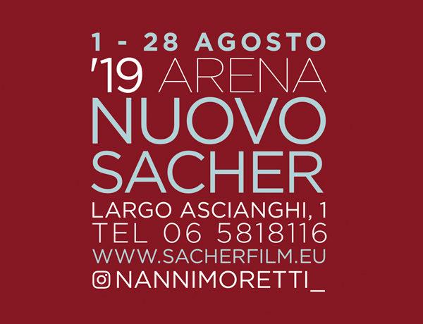 '19 Arena Nuovo Sacher. Programma Agosto