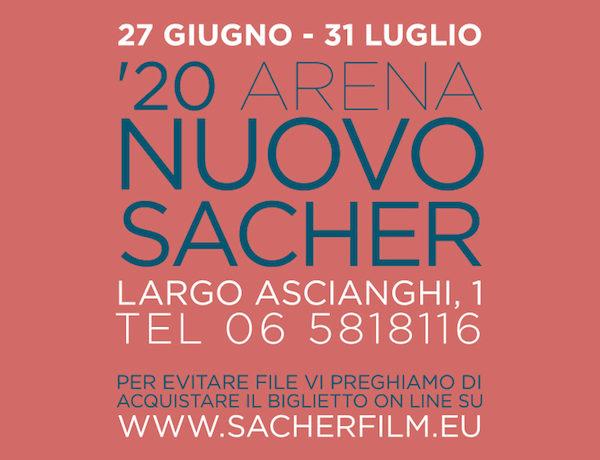 '20 Arena Nuovo Sacher. Programma Luglio