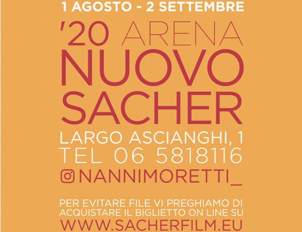 '20 Arena Nuovo Sacher. Programma Agosto