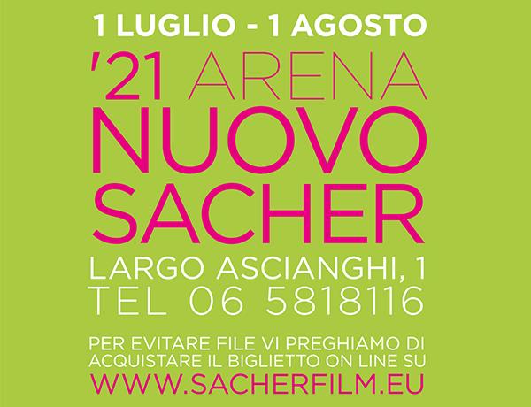 '21 Arena Nuovo Sacher. Programma Luglio
